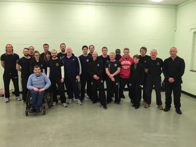 The completion of the Alex Mair (Fairbairn-Sykes method) KAPAP GY seminar in Norwich