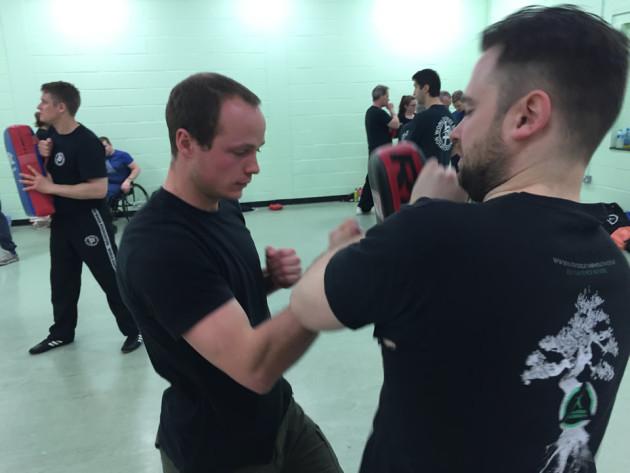 Fairbairn-Sykes method training with KAPAP GY in norwich